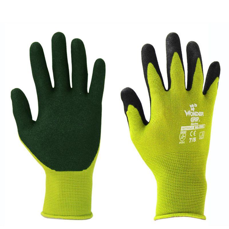 2018 Garden Gloves Rubber Gloves Plant Digging And Pruning Gloves