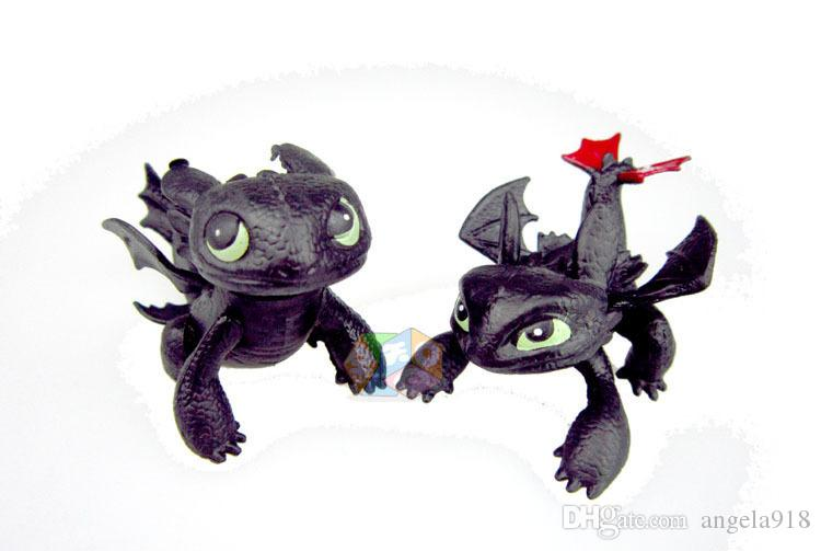 How to Train Your Dragon PVC Action Figures Toy Doll NightFury Toothless Dragon E1743
