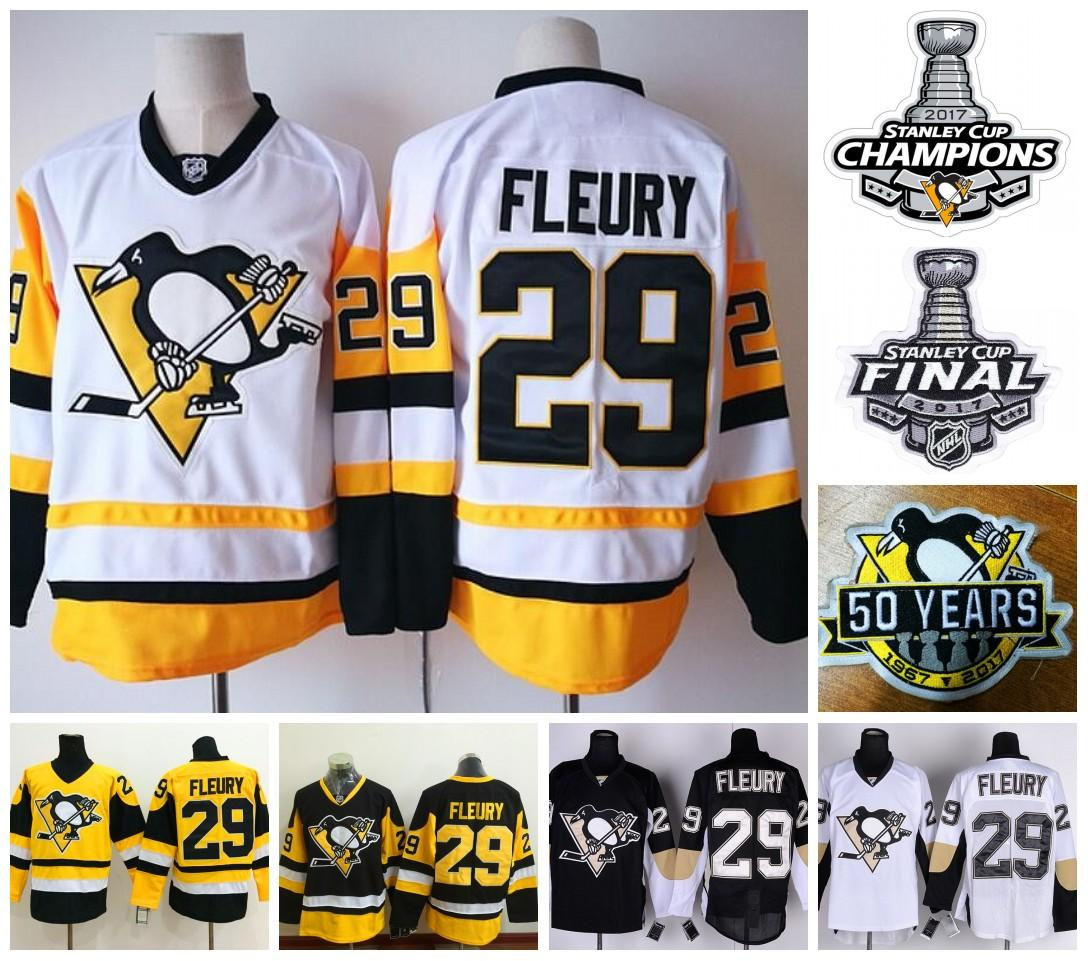 15559e151 italy 2017 2017 stanley cup champions jerseys pittsburgh penguins 29 andre  fleury ice hockey mens jersey
