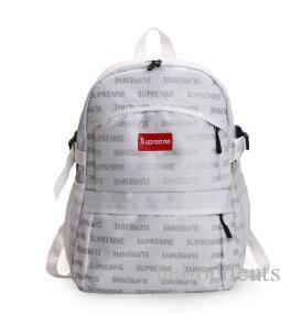 Brand Backpack Shoulder Bag Fashion Trend Student Bag Shoulder Bag Double  Shoulder Lovers Pack Students  Leisure Bags Reflective Backpack Gregory  Backpacks ... 082d0d29f45ca