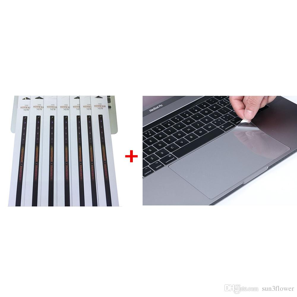 2 in 1 Touch Bar Protector Film+TrackPad Protector Film Sticker For MacBook Pro 13.3'' A1706 2016 15.4'' A1707 2016