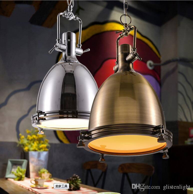 Discount Retro Industrial Pendant Lamp Vintage Jobs Ceiling Light American Village Style Loft Lights For Lighting Dining Room Bar