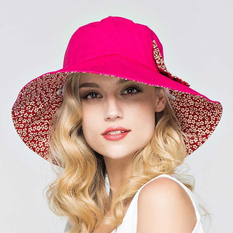 Купить Оптом Летние Большие Брим Пляжные Шляпы Для Женщин Для Женщин С  Защитой От Ультрафиолетовых Лучей Женщины С Большими Головами Складные  Стильные ... 699903dff78