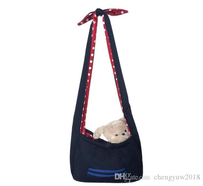 Pet Dogs Cats Cloth Slings Totes Shoulder Bags Backpacks Carriers Outdoor Portable Travel Backpacks