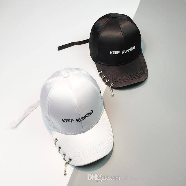 6eda2069504 New Fashion Chains And Voice Tube Punk Hip Hop Caps for Men 2017 ...