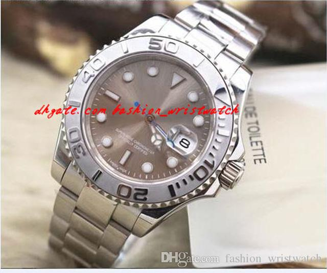 Mode Luxus Armbanduhr 116622 Dark Rhodium Neu Automatische mechanische Bewegung Männer Watch Herren Watchuhren