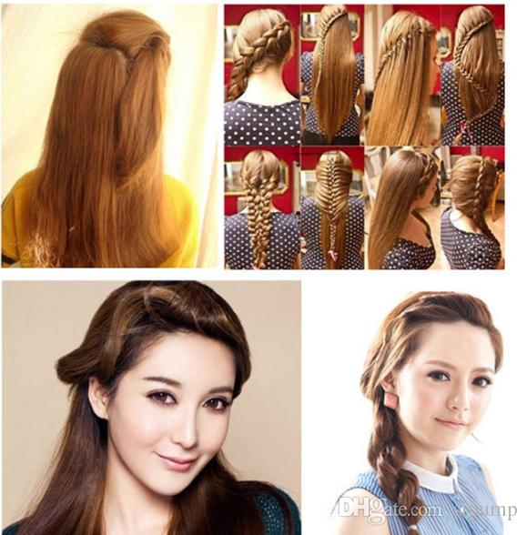 Hair Braider Braid Stylist Sponge Donna Accessori Treccia capelli Twist Styling Hair Braiding Styling Tools DHL libero
