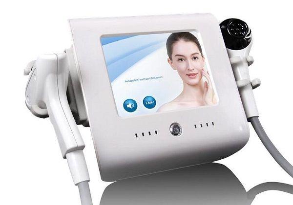 Máquina de estiramiento facial para el spa, centro de belleza, salón de belleza, rejuvenecimiento y rejuvenecimiento de la cara rf con enfoque térmico.