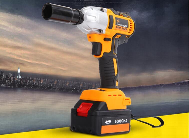1 2 Cordless Impact >> New 1 2 Li Ion 320n M Cordless Impact Wrench With Brushless Motor Electric Impact Wrench Car Tyre Wheel Wrench Cordless Drill