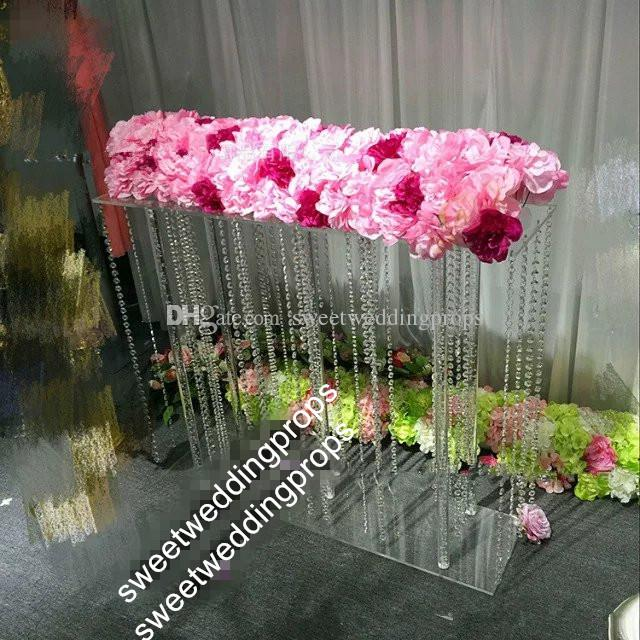 Excellent New Acrylic Centerpieces Crystal Wedding Flower Stand Centerpiece Prices For Wedding Party Decor Table Decoration Download Free Architecture Designs Crovemadebymaigaardcom