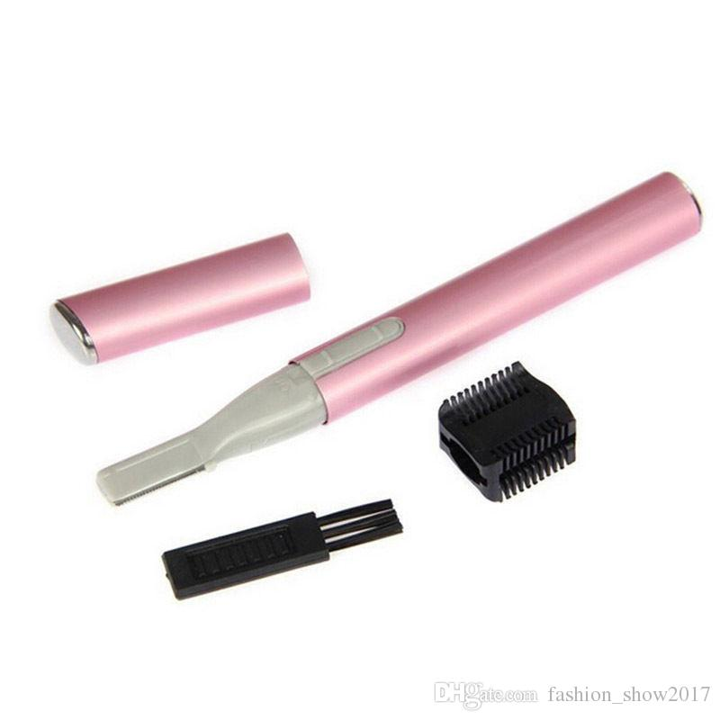 شعبية مصغرة للتدوير النساء سيدة المحمولة الكهربائية لنزع الشعر الحاجب المتقلب آلة الحلاقة الحلاقة مزيل الشعر مجموعة