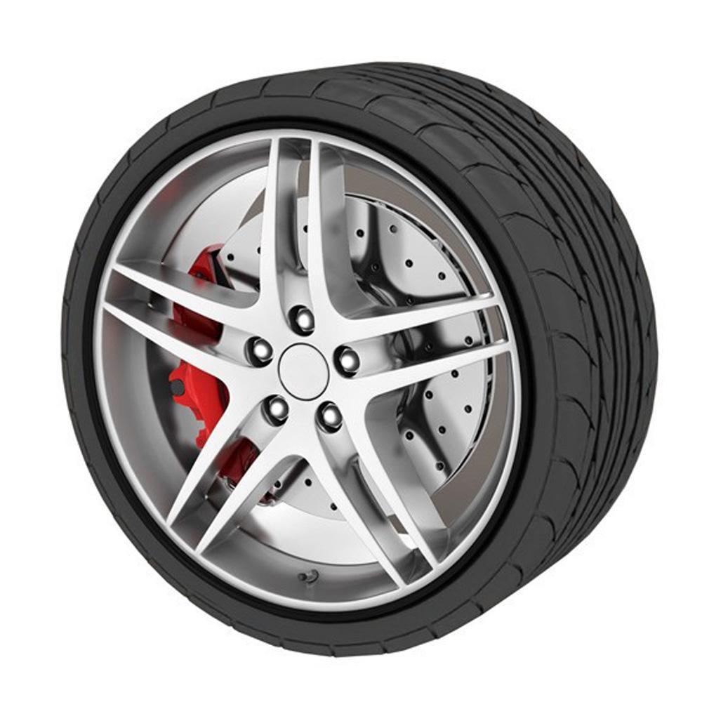 8 m Car Styling Tire llanta borde cuidado protector rueda Rueda pegatinas tira para BMW Golf 4 Opel Astra Toyota Mazda CEA_307