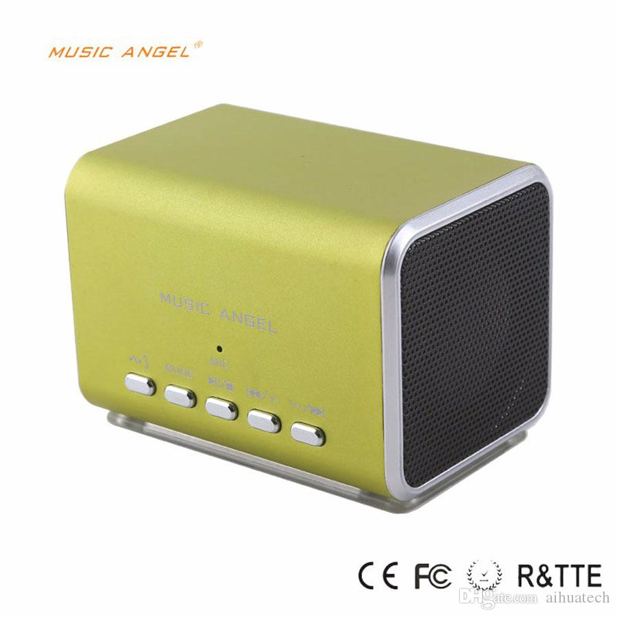 Orijinal Müzik Melek JH-MD05BT Mini Taşınabilir Bluetooth Hoparlör Stereo Kablosuz Desteği TF Kart Ile En Iyi JH-MD05BT3 Speakesrs