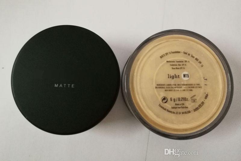 Trucco colori UK versione i Minerali polvere originale / MATTE Foundation trucco in polvere con scatola al dettaglio DHL spedizione gratuita.