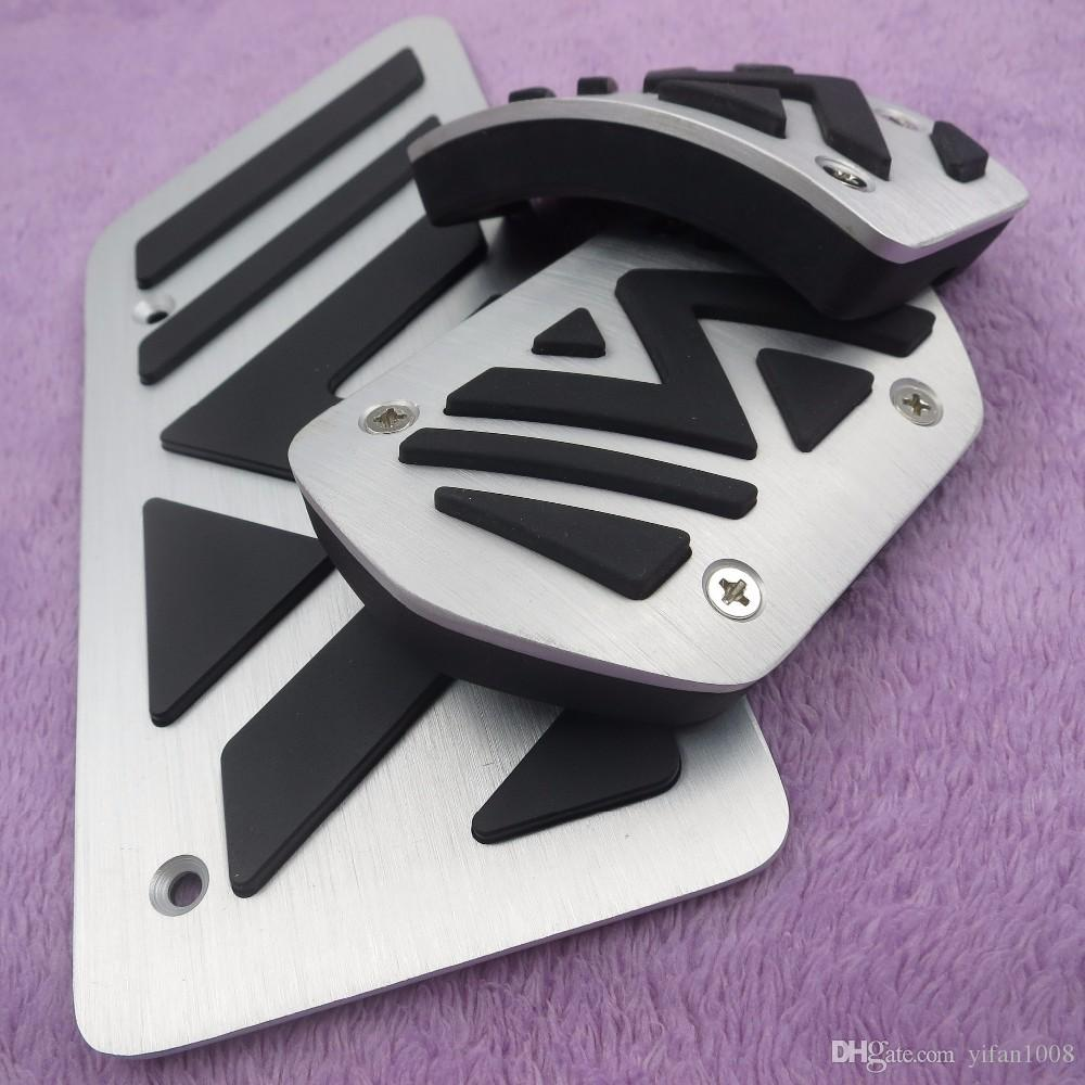 Car Accessories For Peugeot 3008 AT Automatic 2011 2012 2013 2014 2015 Modified Gas Foot Rest Pedal Pad Sticker Styling Cover