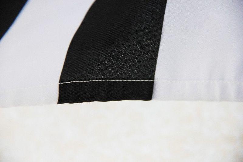 Europeo Americano Negro Rayas Blancas Corona Cortinas de Ducha Baño de Moda Cortina Colgante Baño Impermeable Cortina de Ducha Poliéster