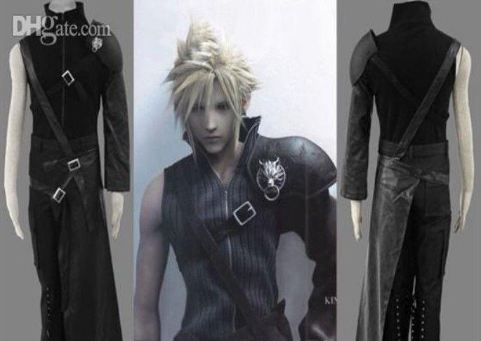 El traje de cosplay Zaxs de Final Fantasy VII Cloud incluye 5 accesorios