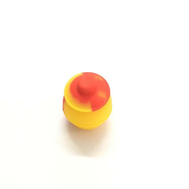 Горячая Honeypot Антипригарным Силиконовым Маслом Воск Концентрат Контейнер Пищевой 35 Мл Хранения Jar