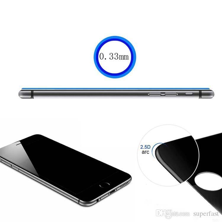 مكافحة التجسس حامي الشاشة لفون XS MAX فون الخصوصية الزجاج المقسى لسامسونج S6 LG مع حزمة