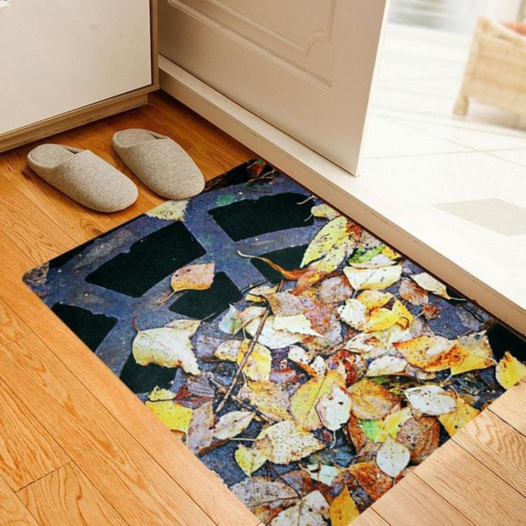 3d Pattern Area Rug Ultra Thin Door Mat Super Non Slip Floor Mat ...