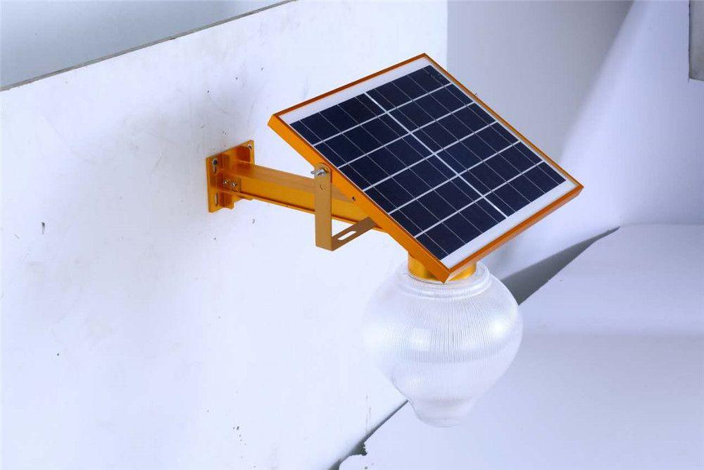Remote Control Timer Setting 10W 15W Solar Panel Solar Powered LED Street Light Outdoor Waterproof Garden Park Countyard Wall Lamp