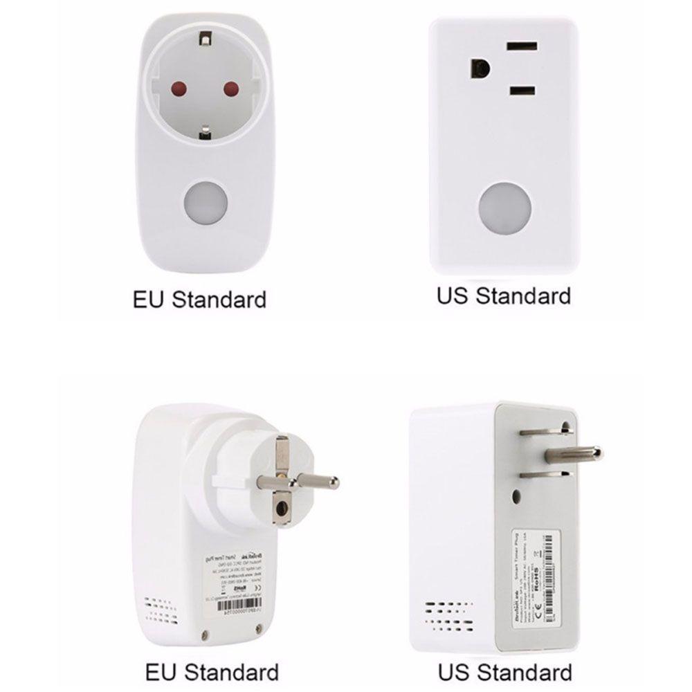 Broadlink Socket Power Meter Monitor,16a+Timer Wifi Plug Outlet ...
