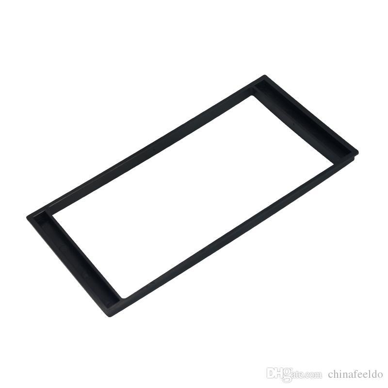 LEEWA 2Din Car Refitting DVD frame,panel,Dash Kit,Audio frame for Nissan LIVINA/SunnyN17Almera/Versa/Renault Scala/Latio #1555