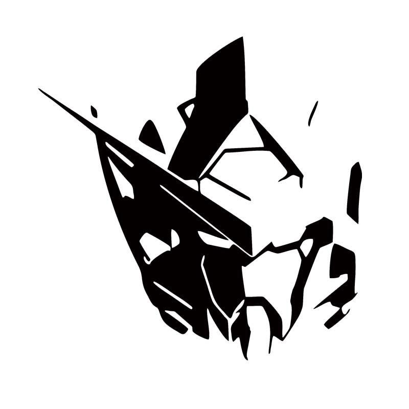 2019 Car Styling For Gundam Exia Gn001 Head Vinyl Decal