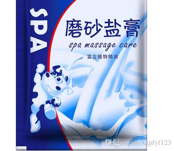 Esfoliante sal de banho de pele morta para pele de frango sal mineral corpo cuidados com a pele esfoliante corporal pasta de sal B661