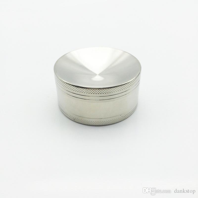 concave surface Good Mini 3 Layers Alloy Metal Tobacco Crusher Hand Muller Smoke Herbal Herb Grinder