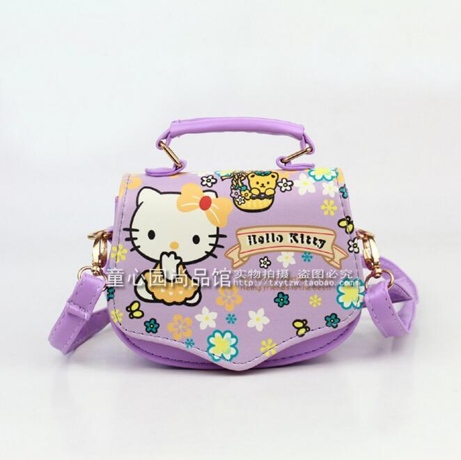b0f46f958cf Wholesale 2016 New Brand Children Baby Girls Cute Hello Kitty Handbag  Kids  Cartoon Handbag  Dsigns Shoulder Bags Princess Message Bag Ladies Handbags  ...