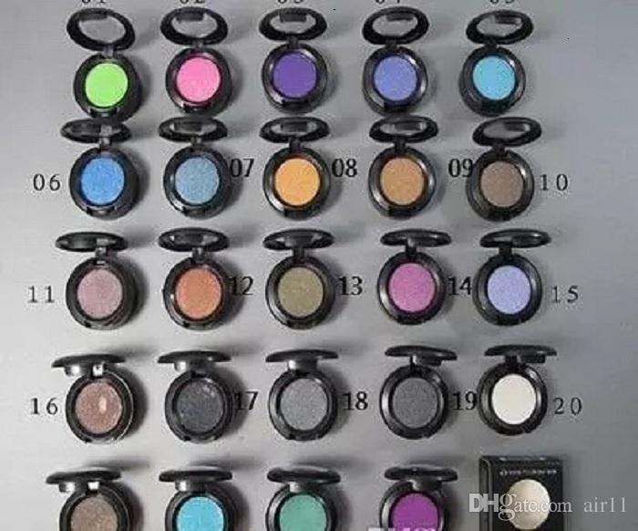 48 adet Yeni Moda Makyaj Göz Farı Profesyonel Doğal Pigment Göz Farı Paleti Kozmetik Makyaj Göz Farı Renkli