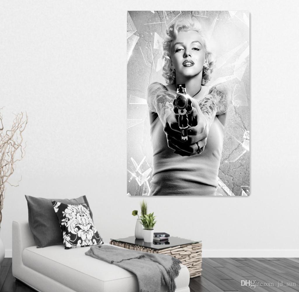 2018 Marilyn Monroe Oil Painting On Canvas Art Prints