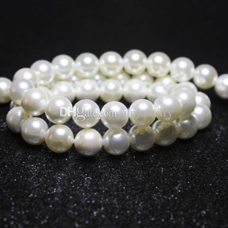 Wholesale Natural 8mm 10mm South Sea Shell Pearl Loose Beads AAA 15/""