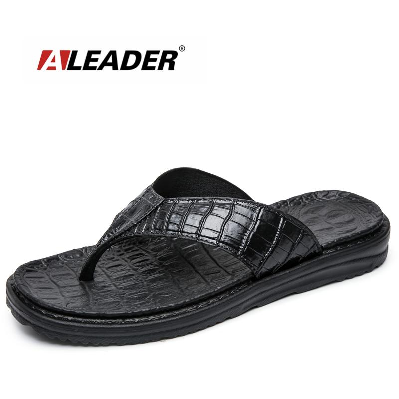 6f5fa23d1a453e Aleader New 2017 Extremely Soft Flip Flops Men Sandals Beach Shoes For Men  High Quality Eva Men Summer Slippers Massage Shoes Walking Boots Womens  Cowboy ...