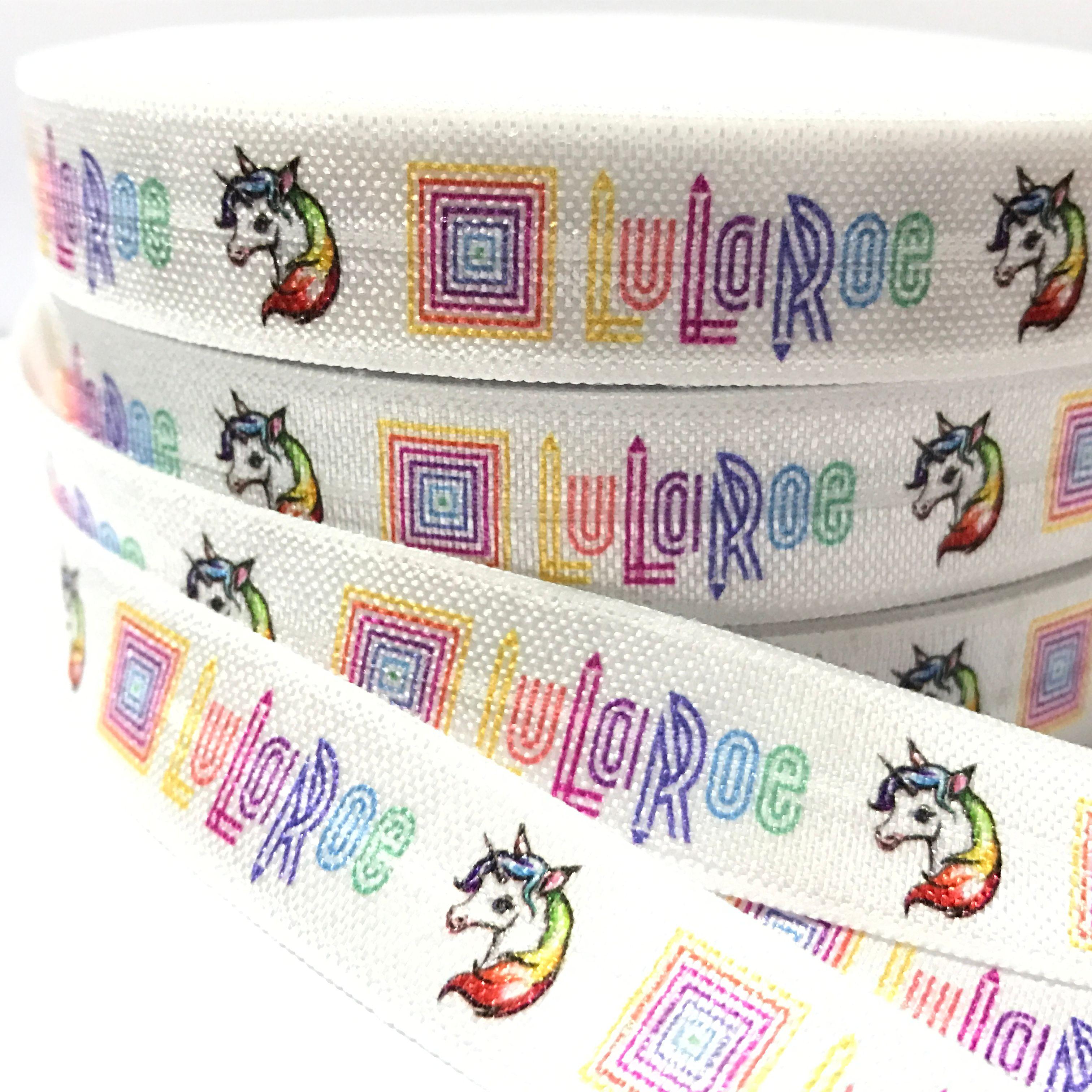 09763e47977 100 Yard 5 8 High Quality Lularoe Print Fold Over Elastic Girl Pony Tails  Holder Unicorn FOE Elastic Hair Tie Ribbon DIY Head Wear UK 2019 From  Lycc1984