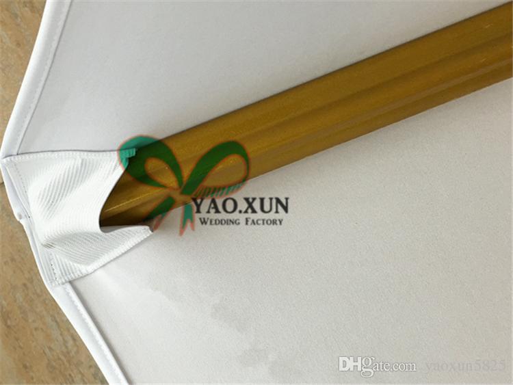 Cubierta de buena calidad de color Negro Lycra Spandex de la silla usada en la boda Decoración