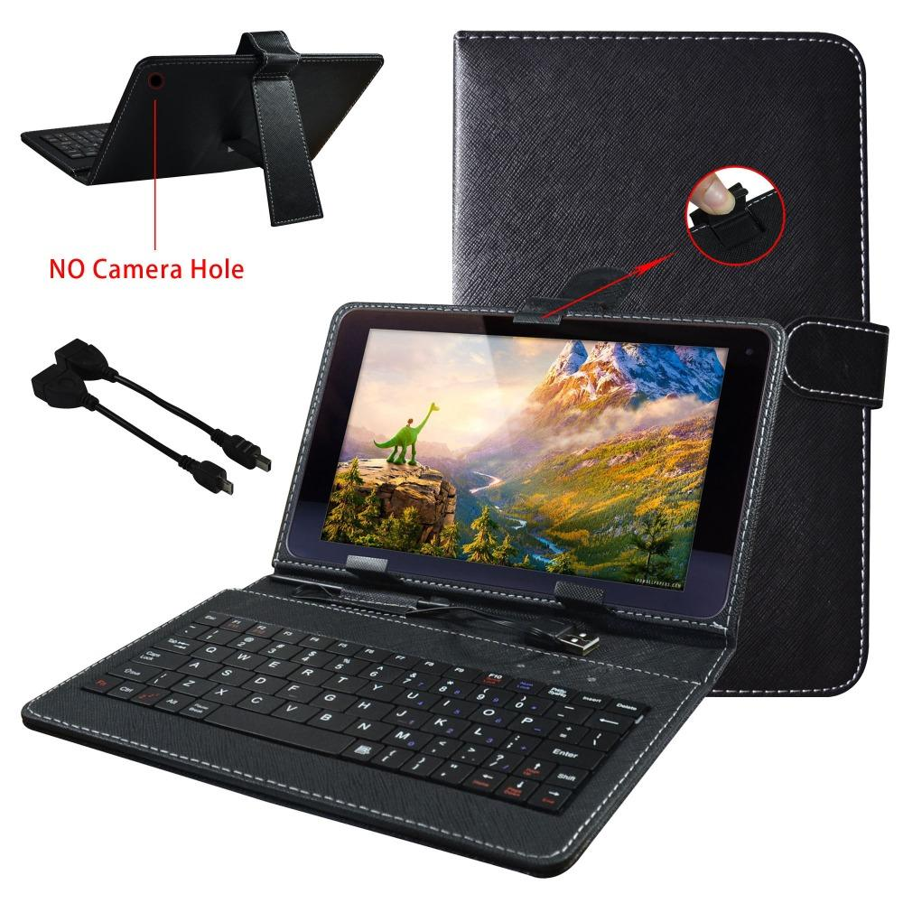 "Wholesale- Best quality Fashion Universal Tablet PC Case Best Folio Keyboard Leather Cover For 10.1"" CHUWI HiBook Pro / Hi10 Pro"