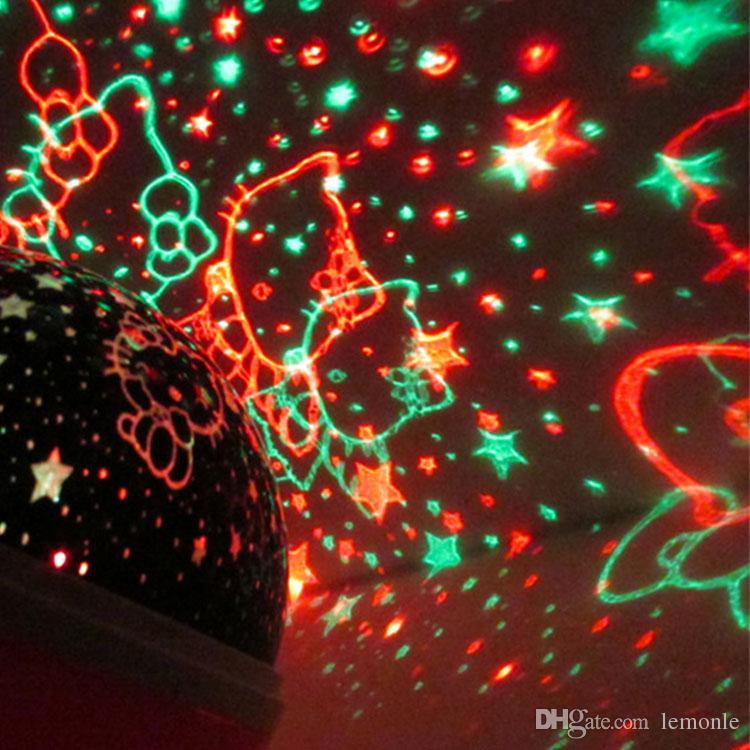 Schlafen Projektor Licht Drehbare LED Nachtlicht Intelligente Projektionslampe Baby Kind Wohnzimmer Dekoration Licht