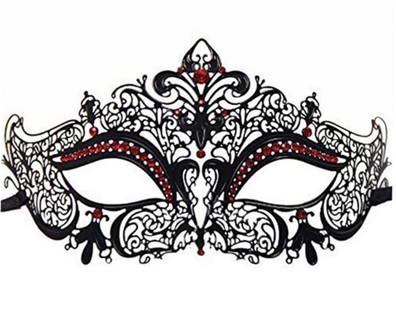 Acquista Luxury His Hers Maschera Da Ballo In Coppia Di Adulti In