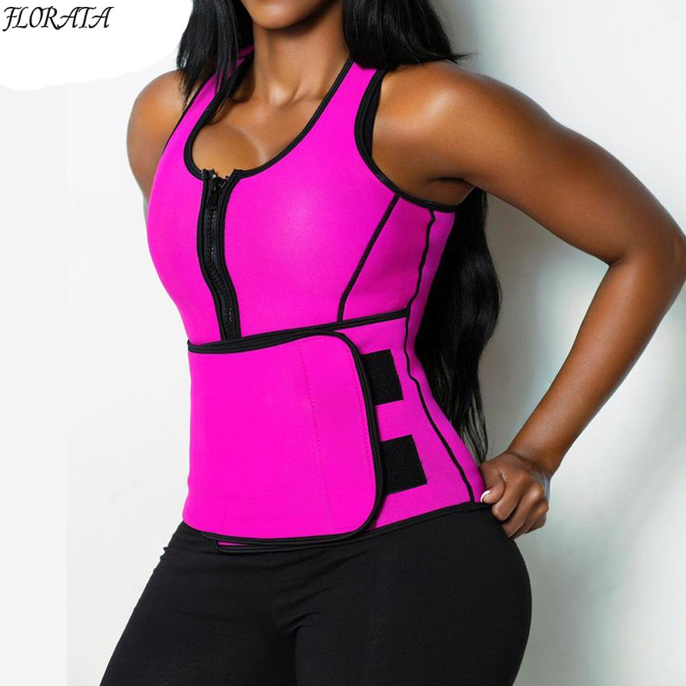 8811c51ef3 2019 Wholesale NEW Neoprene Sauna Vest Body Shaper Slimming Waist Trainer Hot  Shaper Summer Workout Shapewear Adjustable Sweat Belt Corset From Stepheen