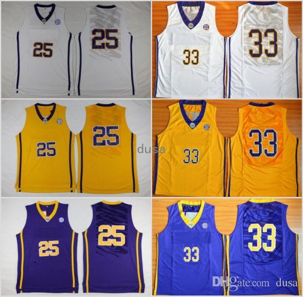 huge discount 228f6 ef4ad best price lsu tigers 33 shaquille o neal white college ...