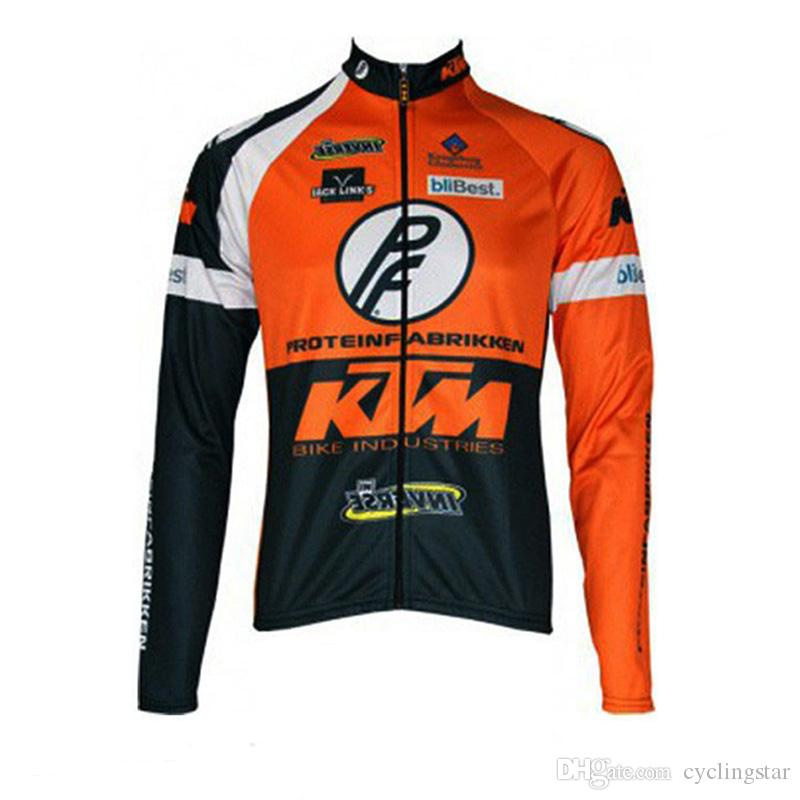 2017 new Ktm Cycling jersey bicycle ropa ciclismo hombre mtb bike sports jersey cycling clothing long sleeve jacket maillot ciclismo C0129