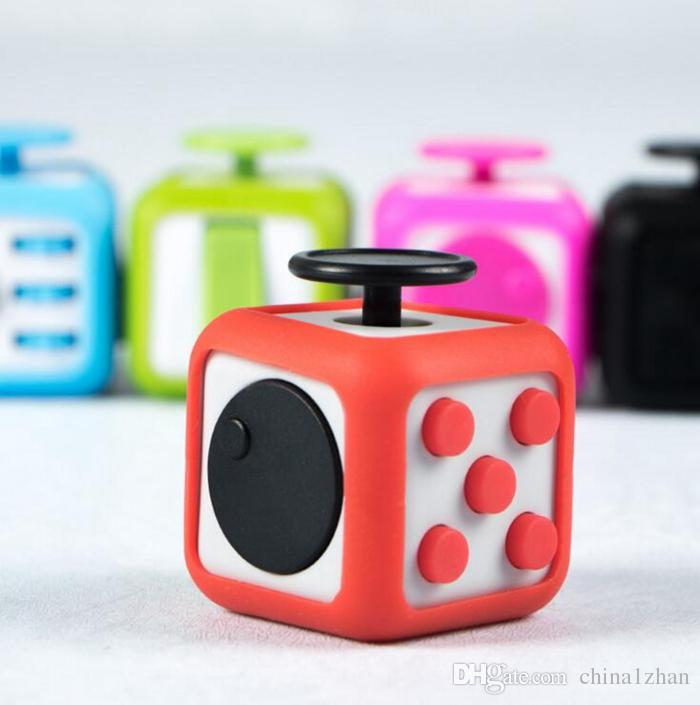 Silicone Fidget Cubes Prism Cases Silica Gel Protective Case Prevent Friction Cover Decompression Toys Accessories Mixed Color Dht13 Head Stress Reliever