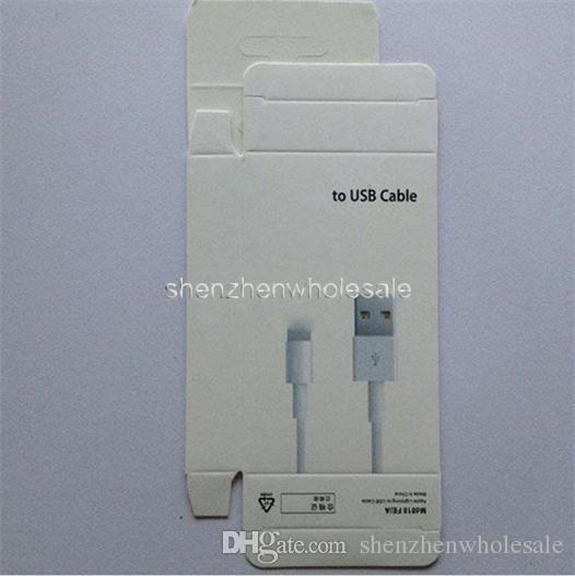 Caja al por menor al por mayor para la caja al por menor del cable para el cable que usted puede utilizar para el paquete al por menor y había solamente color blanco en existencia ahora