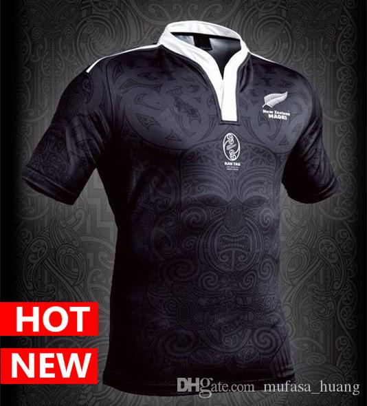 8545a0eae34 New Zealand Maori All Blacks Jersey 100 Year Anniversary ...