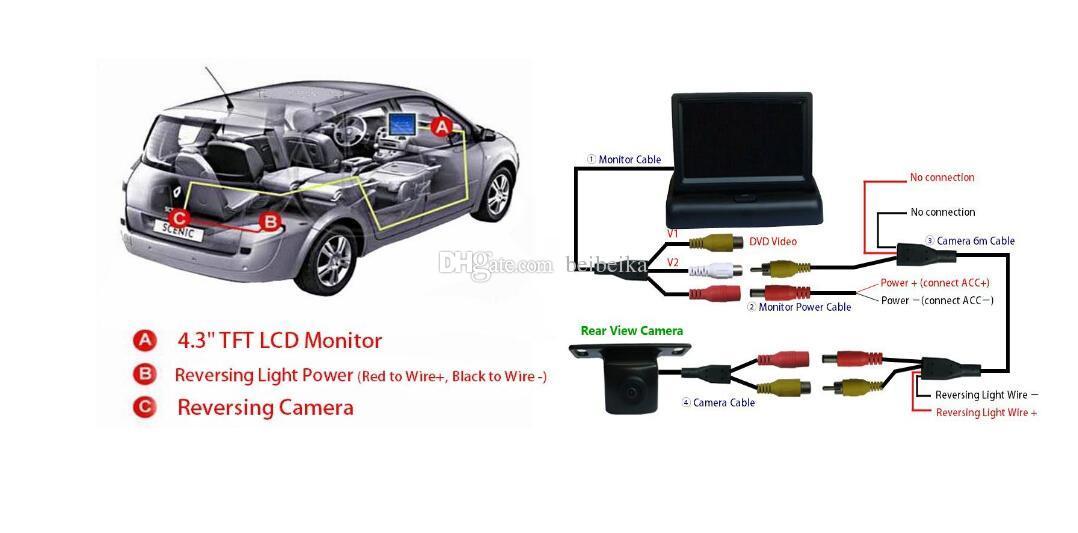For Nissan Maxima car Rear View Camera / Back Up Parking Camera HD CCD Night Vision0019