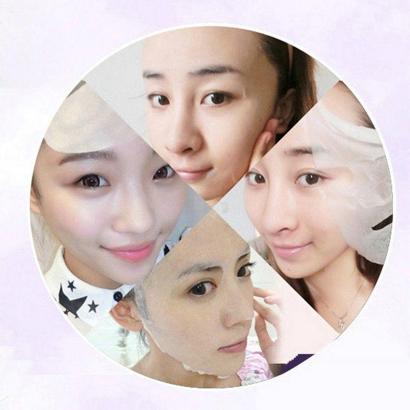 DHL Snail White Silk Face Masks Korea Snail Secretion Filtrate Carrian Filtrate Secretion Skin Care Beauty Facial Whitening Moisturizing