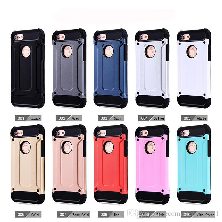 79564ef01b For Apple Iphone 7 Plus 6 6S Samsung Galaxy S8 Edge Plus S7 Note 8 Steel  Armor TPU PC Cell Phone Covers Cases Mobile Phone Case Phone Covers From ...