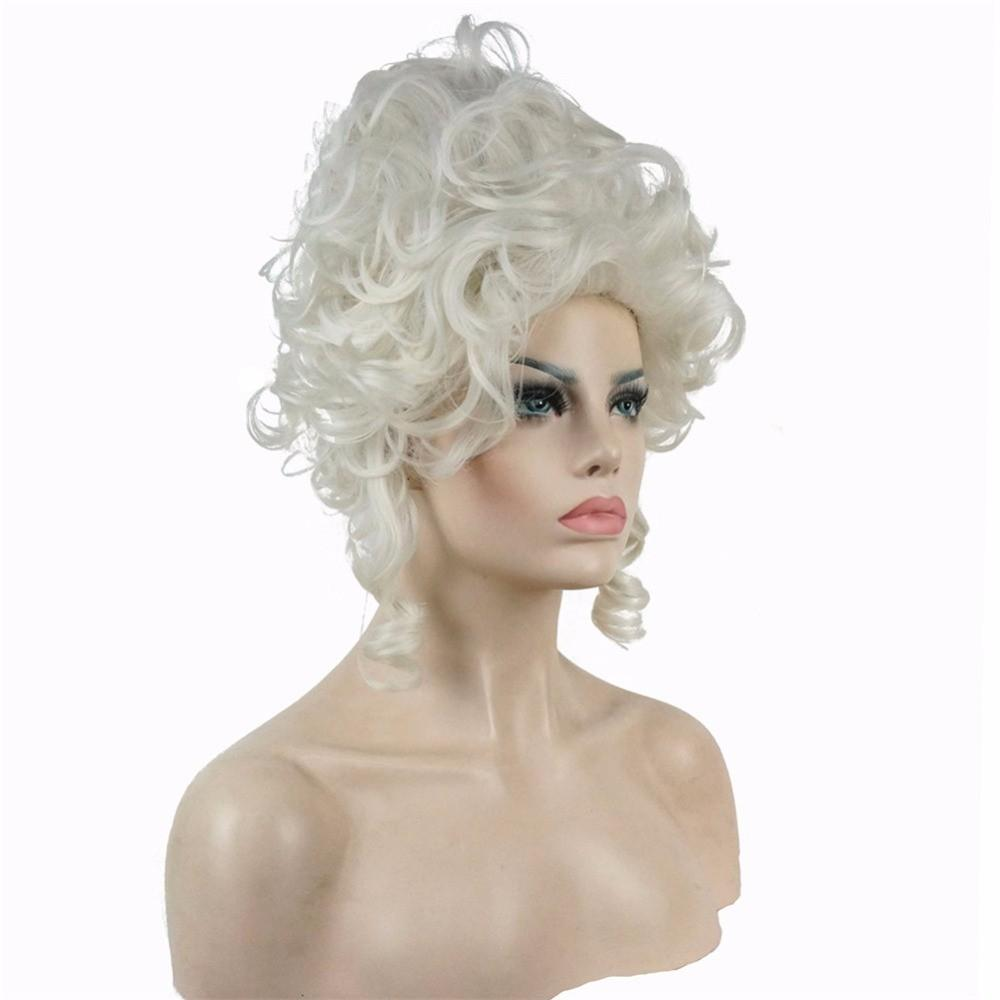 Marie Antoinette Wig Kobiet Syntetyczny Cosplay Włosy Peruki